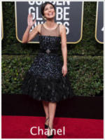 Alessandra Mastronardi - Beverly Hills - 08-01-2018 - Golden Globe 2018: gli stilisti sul red carpet