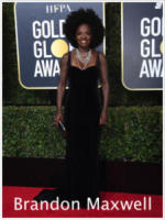 Viola Davis - Beverly Hills - 08-01-2018 - Golden Globe 2018: gli stilisti sul red carpet
