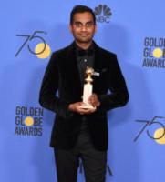 Aziz Ansari - Beverly Hills - 07-01-2018 - Golden Globe 2018: trionfa Tre Manifesti a Ebbing, Missouri