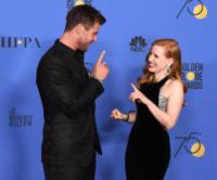 Chris Hemsworth, Jessica Chastain - Beverly Hills - 07-01-2018 - Golden Globe 2018: trionfa Tre Manifesti a Ebbing, Missouri