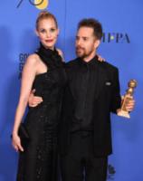 Leslie Bibb, Sam Rockwell - Beverly Hills - 07-01-2018 - Golden Globe 2018: trionfa Tre Manifesti a Ebbing, Missouri