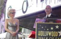 Mitch O'Farrell, Gillian Anderson - Hollywood - 08-01-2018 - Gillian Anderson, la stella di X-Files sulla Walk of Fame