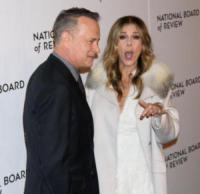 Tom Hanks, Rita Wilson - New York - 10-01-2018 - Shiloh, braccio al collo sul red carpet con mamma Angelina