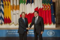 Paolo Gentiloni, Mariano Rajoy - Roma - 10-01-2018 - Il Sud Europa unito a favore dei migranti