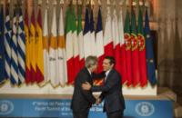 Alexis Tsipras, Paolo Gentiloni - Roma - 10-01-2018 - Il Sud Europa unito a favore dei migranti