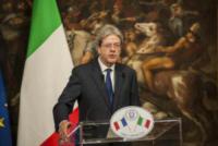 Paolo Gentiloni - Roma - 11-01-2018 - Paolo Gentiloni accoglie Emmanuel Macron a Palazzo Chigi