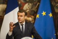 Emmanuel Macron - Roma - 11-01-2018 - Paolo Gentiloni accoglie Emmanuel Macron a Palazzo Chigi