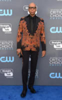 RuPaul - Santa Monica - 11-01-2018 - Critics' Choice Awards: sul red carpet si rivedono... i colori!