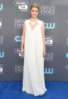 Greta Gerwig - Santa Monica - 11-01-2018 - Critics' Choice Awards: sul red carpet si rivedono... i colori!