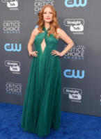 Jessica Chastain - Santa Monica - 11-01-2018 - Critics' Choice Awards: sul red carpet si rivedono... i colori!
