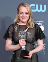 Elisabeth Moss - Santa Monica - 11-01-2018 - Critics' Choice Awards: trionfa The Shape of Water