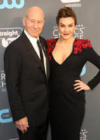 Sir Patrick Stewart, Sunny Ozell - Los Angeles - 11-01-2018 - Critics' Choice Awards: sul red carpet si rivedono... i colori!