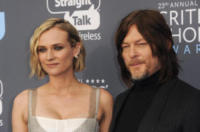 Norman Reedus, Diane Kruger - Los Angeles - 12-01-2018 - Critics' Choice Awards: sul red carpet si rivedono... i colori!