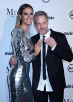 Tom Bachik, Heidi Klum - West Hollywood - 11-01-2018 - Heidi Klum, dama d'argento ai Marie Claire Image Makers Awards