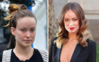 Olivia Wilde - 12-01-2018 - Prima e dopo: il miracolo del make up!