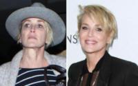 Sharon Stone - 12-01-2018 - Prima e dopo: il miracolo del make up!