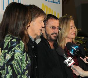Nancy Shevell, Barbara Bach, Ringo Starr, Paul McCartney - Pasadena - 16-01-2018 - Katy Perry, una signora in rosso al defilé di Stella McCartney