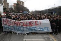 Protesta per Gaetano e Arturo, studenti - Napoli - 17-01-2018 - Napoli sfila contro le baby gang in onore di Gaetano e Arturo
