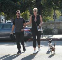 Mattia Dessi, Brigitte Nielsen - Los Angeles - 18-01-2018 - Brigitte Nielsen, Dessi e i loro cuccioli: che bella famigliola!