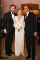 Rosa Fanti, Carlo Cracco, Giuseppe Sala - Milano - 20-01-2018 - Carlo Cracco sposa Rosa Fanti (e il bodyguard le rompe l'abito)