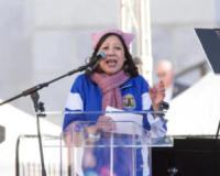 Hilda L. Solis - Los Angeles - 20-01-2018 - Time's Up: dal tappeto rosso alle strade d'America