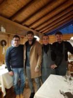 Andrea Iannone - Cortina - La trasformazione di Andrea Iannone in... Fabrizio Corona!