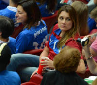 EURO 2012, Alena Seredova - Warschau - 28-06-2012 - Alena Seredova contro Ilaria d'Amico e Gigi Buffon: lo sfogo