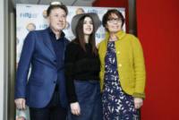 Enzo Mazza, Maria Mussi Bollini, Federica Carta - Milano - 26-01-2018 - Federica Carta, da Amici alla conduzione di Top Music