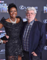 Mellody Hobson, George Lucas - Hollywood - 30-01-2018 - Bellissima Lupita Nyong'o, italiana per una notte