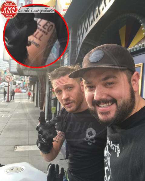 Tom Hardy - San Francisco - 31-01-2018 - Tom Hardy ha un tattoo dedicato a Leonardo DiCaprio