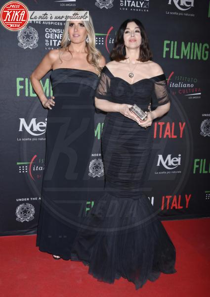 Tiziana Rocca, Monica Bellucci - Hollywood - 31-01-2018 - Monica Bellucci illumina il Filming on Italy con la sua bellezza
