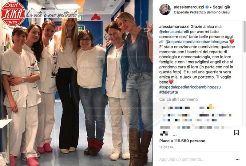 Alessia Marcuzzi, Elena Santarelli - 02-02-2018 - Alessia Marcuzzi, una dedica speciale per Elena Santarelli