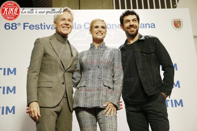 Pierfrancesco Favino, Michelle Hunziker, Claudio Baglioni - Sanremo - 05-02-2018 - Sanremo 2018: ecco la verà novità del Festival