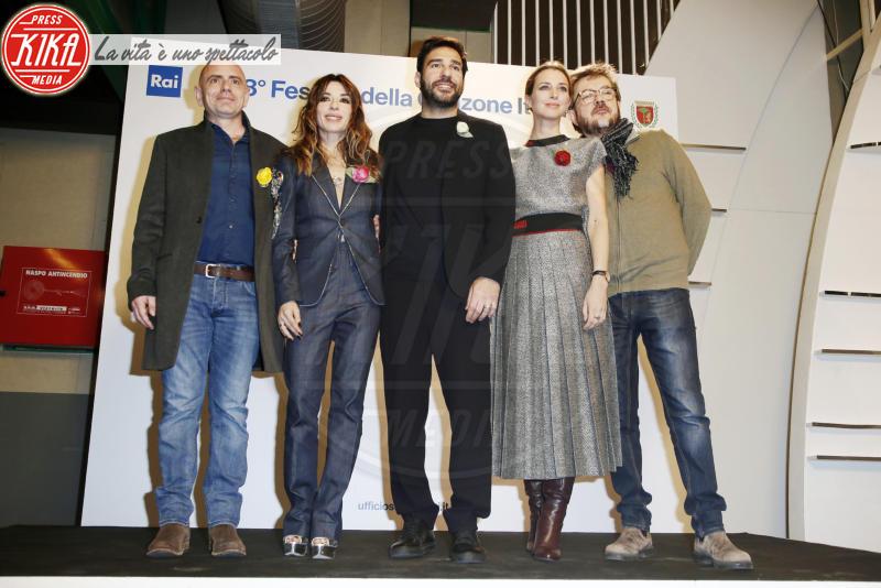 Rocco T, Carolina Di Domenico, Edoardo Leo, Sabrina Impacciatore - Sanremo - 05-02-2018 - Sanremo 2018: la squadra del dopofestival