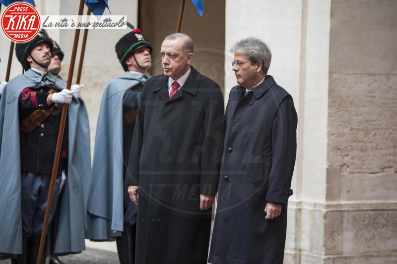 Protesta Erdogan Roma - Roma - 05-02-2018 - Erdogan a Roma: scontri al sit-in di protesta. Un ferito