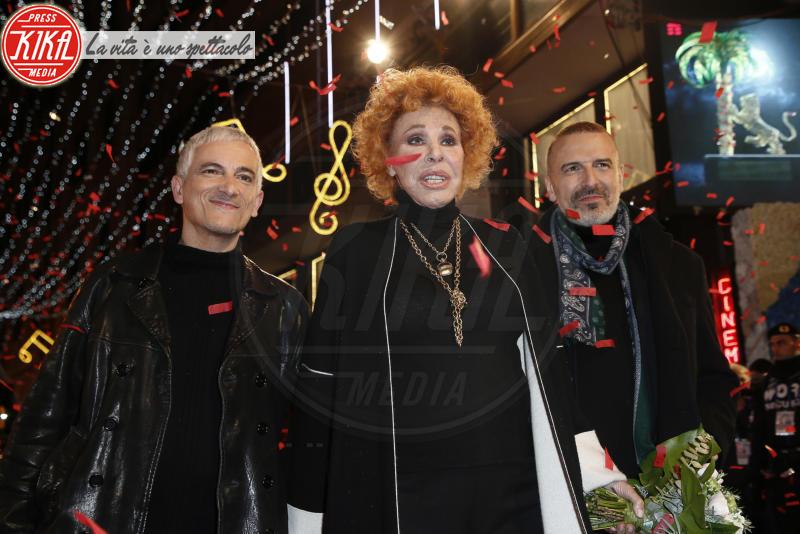 Bungaro, Pacifico, Ornella Vanoni - Sanremo - 05-02-2018 - Festival di Sanremo: i concorrenti sfilano sul red carpet