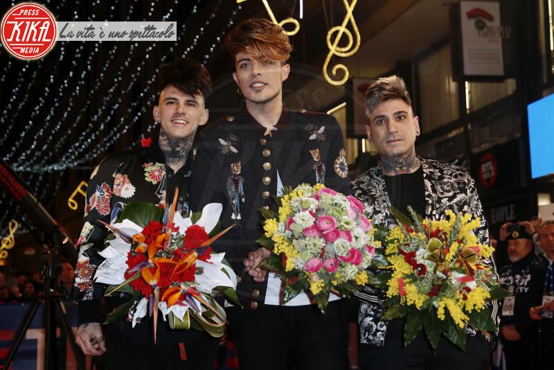 The Kolors - Sanremo - 05-02-2018 - Festival di Sanremo: i concorrenti sfilano sul red carpet