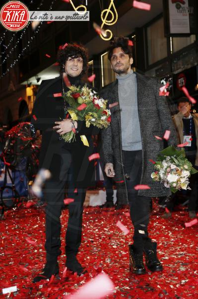 Ermal Meta, Fabrizio Moro - Sanremo - 05-02-2018 - Festival di Sanremo: i concorrenti sfilano sul red carpet