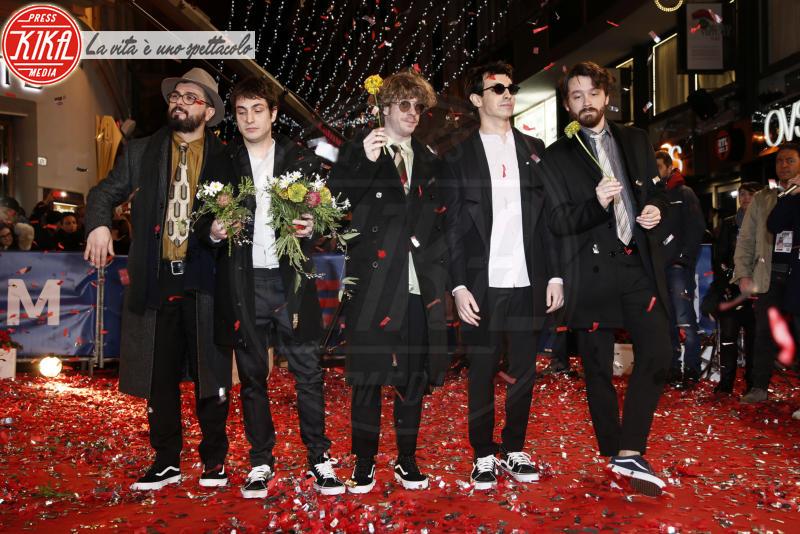 Lo Stato Sociale - Sanremo - 05-02-2018 - Festival di Sanremo: i concorrenti sfilano sul red carpet