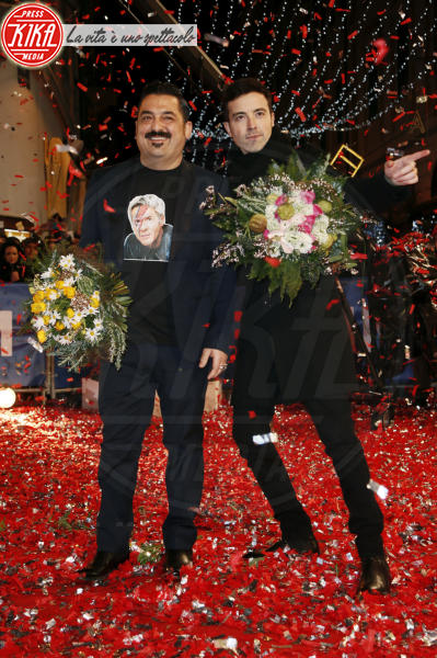 Diodato, Roy Paci - Sanremo - 05-02-2018 - Festival di Sanremo: i concorrenti sfilano sul red carpet