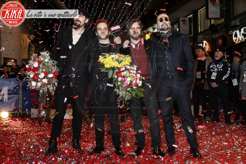 Le Vibrazioni - Sanremo - 05-02-2018 - Festival di Sanremo: i concorrenti sfilano sul red carpet