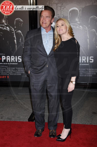Arnold Schwarzengger, Heather Milligan - Burbank - 05-02-2018 - The 15:17 to Paris: l'attentato del 2015 arriva al cinema