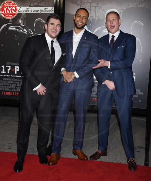 Alek Skarlatos, Anthony Sadler, Spencer Stone - Burbank - 05-02-2018 - The 15:17 to Paris: l'attentato del 2015 arriva al cinema
