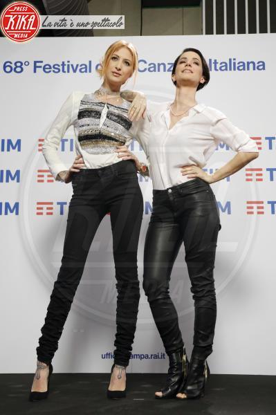 Ema Stokholma, Andrea Delogu - Sanremo - 06-02-2018 - Sanremo 2018, Andrea Delogu inviata in diretta per Radio2