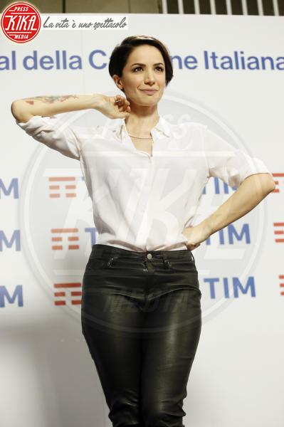 Andrea Delogu - Sanremo - 06-02-2018 - Sanremo 2018, Andrea Delogu inviata in diretta per Radio2