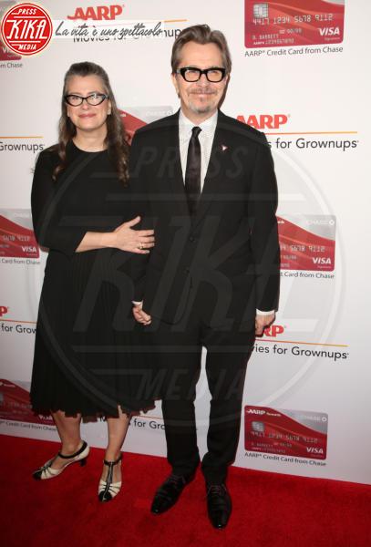 Gisele Schmidt, Gary Oldman - Los Angeles - 06-02-2018 - Helen Mirren è la regina dei Movies for Grownups Awards