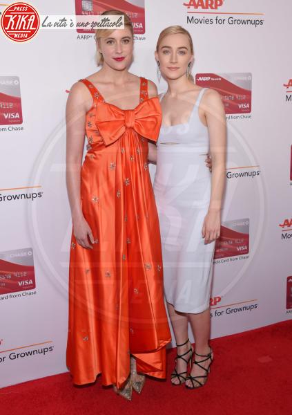 Greta Gerwig, Saoirse Ronan - Beverly Hills - 05-02-2018 - Helen Mirren è la regina dei Movies for Grownups Awards