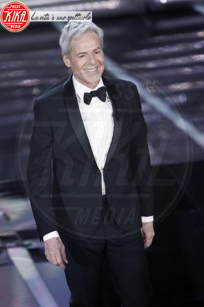 Claudio Baglioni - Sanremo - 06-02-2018 - Sanremo 2018, si parte con un'invasione sul palco