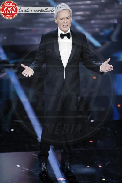 Claudio Baglioni - Sanremo - 06-02-2018 - Sanremo, la dichiarazione d'amore della Hunziker a Trussardi