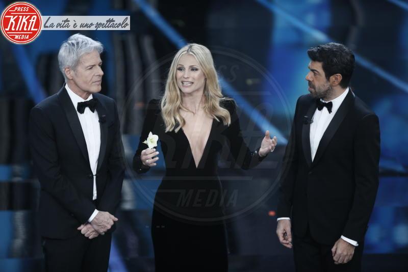 Pierfrancesco Favino, Michelle Hunziker, Claudio Baglioni - Sanremo - 06-02-2018 - Chi è la ballerina che ha fatto impazzire Sanremo